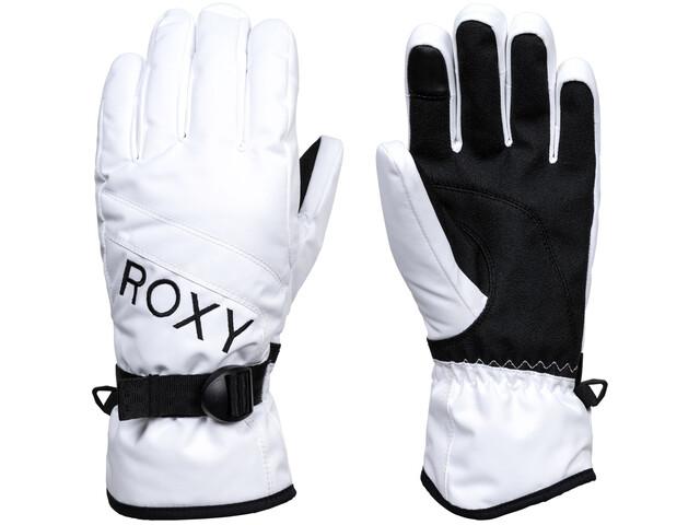 Roxy Jetty Solid Gloves Women, bright white